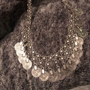 Fabulous Turkish coin necklace